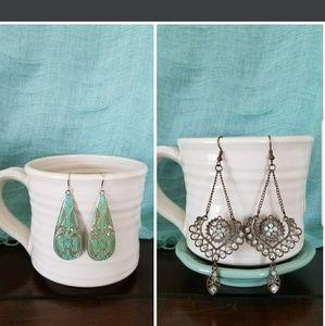 Mint / Turquoise Earrings